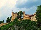 view of hohenschwangau castle