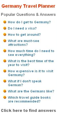 travel questions for travellers to germany
