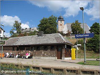 train station in schluchsee