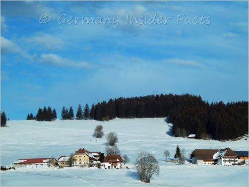 scenery in southern bavaria