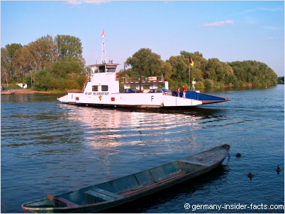 ferry and boat on the river main