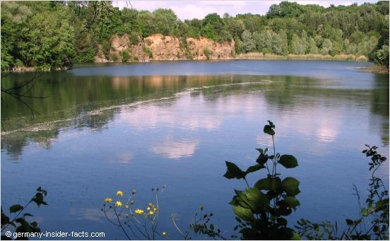 idyllic scenery in hessen