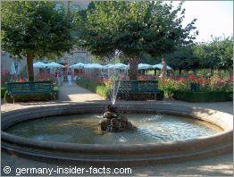 bamberg germany rose garden