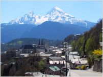berchtesgaden and the watzmann mountain