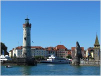 lindau harbour entrance