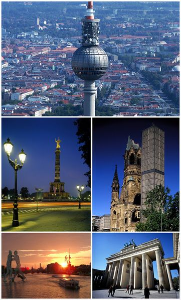collage of attractions in berlin