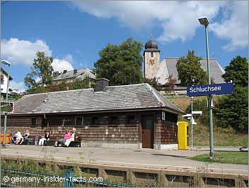 train station in schluchsee