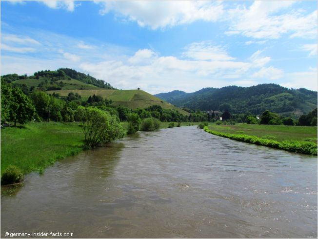 kinzig valley in the central black forest