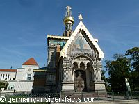 colourful chapel russian style