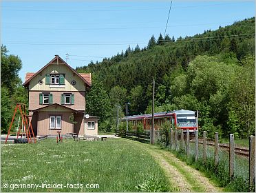 rural train station