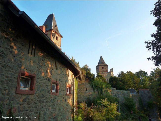 Burg Frankenstein is haunted at Halloween