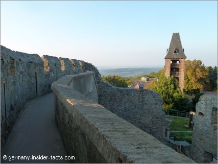 view over frankenstein castle