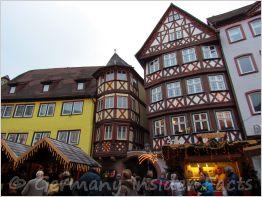 german christmas market in wertheim