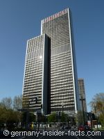 modern marriott hotel in frankfurt