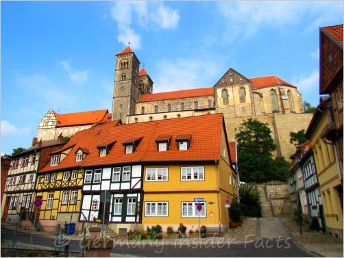 mighty church in quedlinburg