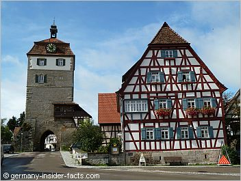 historic town in southern germany