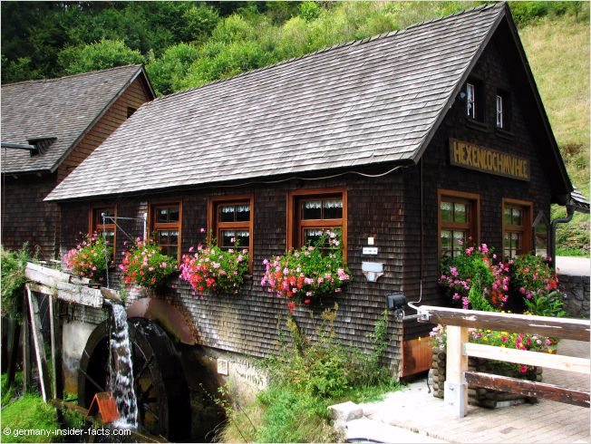 old mill in the black forest