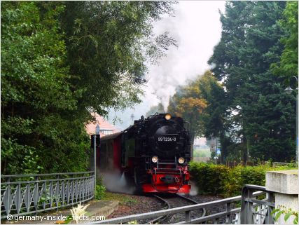 steam train in wernigerode