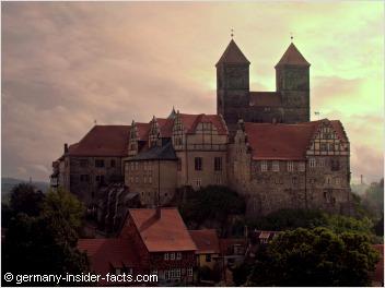 mighty castle quedlinburg