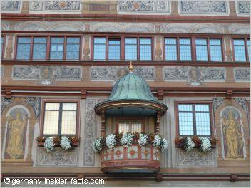 colourful facade