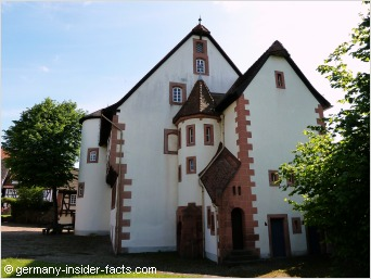 old amtshouse in steinau