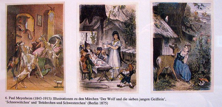 illustrations of grimms fairy tales