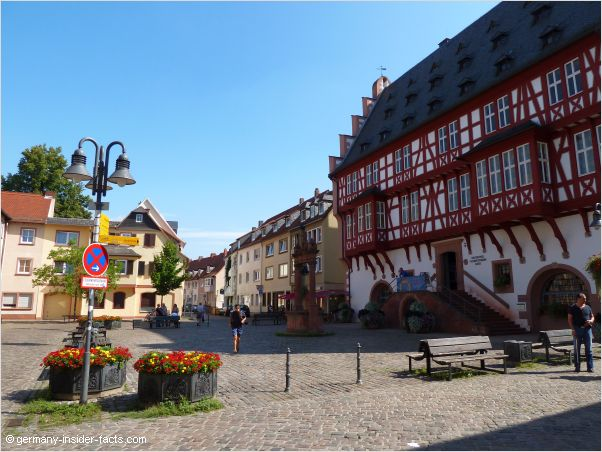 old town square in hanau