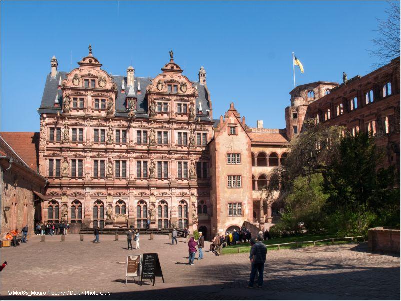 renaissance friedrichsbau heidelberg castle