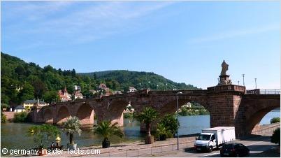 neckar bridge heidelberg