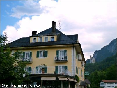hohenschwangau hotels hotel muller