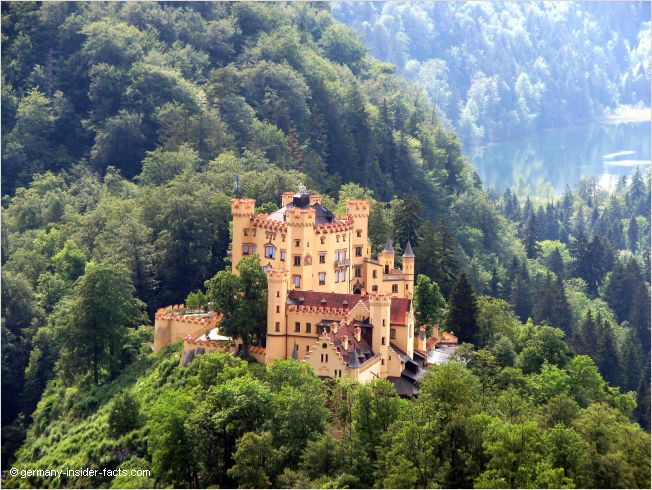 old castle in hohenschwangau