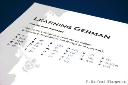 sheet of paper with letters