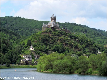 cochem with the reichsburg and the mosel valley