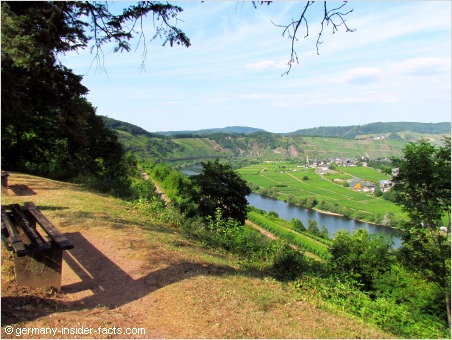 views over the mosel valley