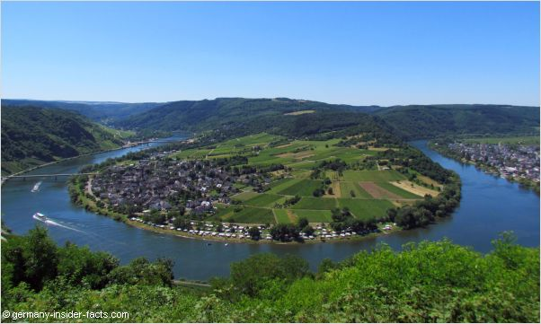 mosel river scenery