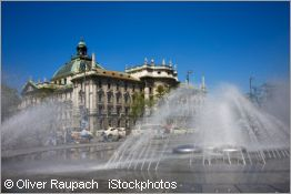 fountain at stachus
