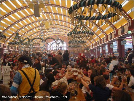 löwenbrau festzelt oktoberfest munich