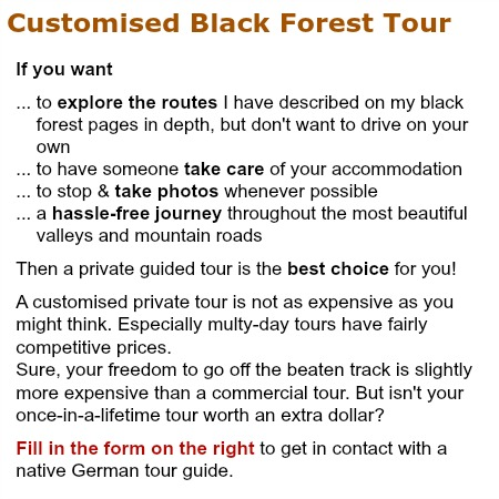 black forest tour guide offer