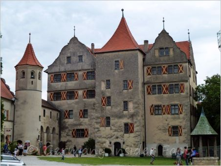 mighty harburg castle