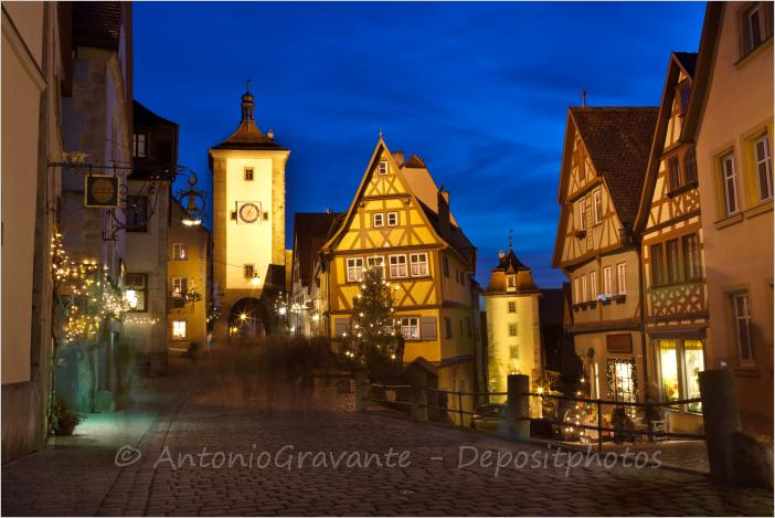 the most prominent sight of rothenburg