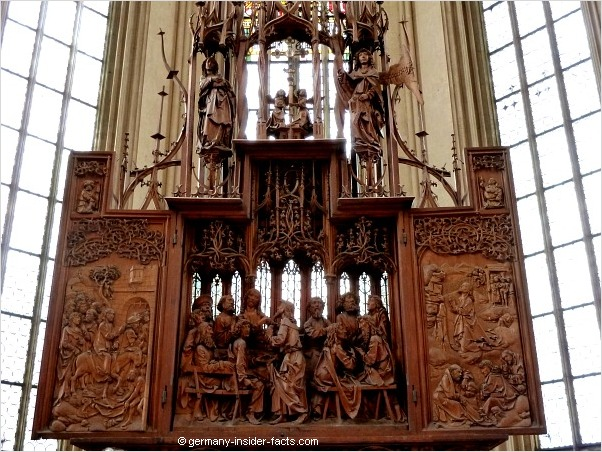 woodcarved altarpiece