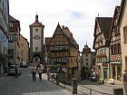 half-timbered houses rothenburg