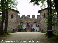 entrance of saalburg