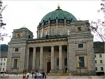 huge church at st. blasien