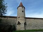 medieval tour and wall