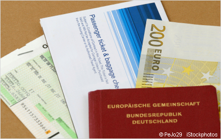 travel documents and passport