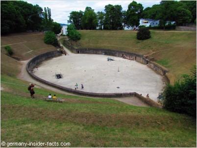 old roman amphitheatre