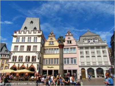 market square in trier