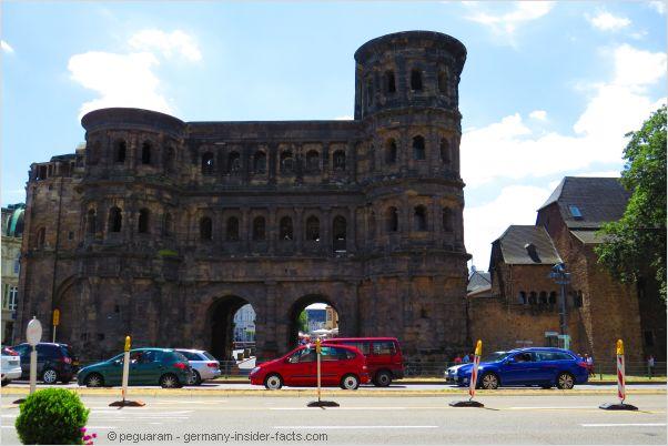 roman city gate porta nigra