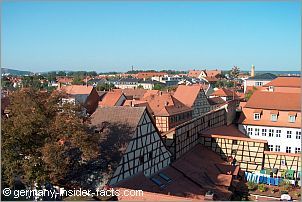 view over bamberg